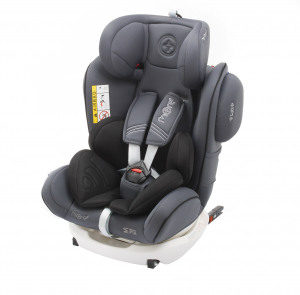 Scaun auto BABYAUTO MORE WERDU PLUS, Dual Isofix, 0-36 kg, Gri/Negru10