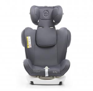 Scaun auto BABYAUTO MORE WERDU PLUS, Dual Isofix, 0-36 kg, Gri/Negru12