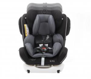Scaun auto BABYAUTO MORE WERDU PLUS, Dual Isofix, 0-36 kg, Negru/Gri5