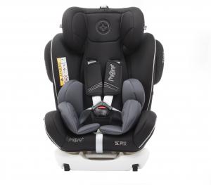 Scaun auto BABYAUTO MORE WERDU PLUS, Dual Isofix, 0-36 kg, Negru/Gri4