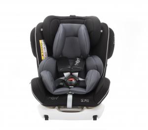 Scaun auto BABYAUTO MORE WERDU PLUS, Dual Isofix, 0-36 kg, Negru/Gri1