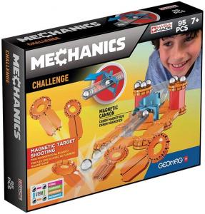 Set constructie magnetic Geomag Mechanics Challenge 95 piese0