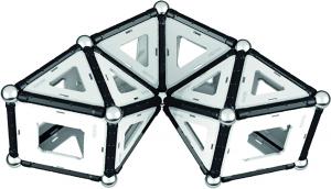 Set de constructie magnetic Geomag Black&White 104 piese8
