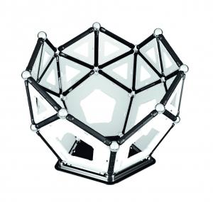 Set de constructie magnetic Geomag Black&White 104 piese7