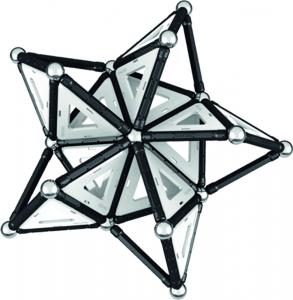 Set de constructie magnetic Geomag Black&White 104 piese4