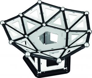 Set de constructie magnetic Geomag Black&White 104 piese5