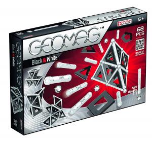 Set de constructie magnetic Geomag Black&White 68 piese0