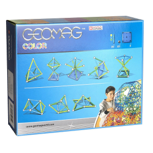 Set de constructie magnetic Geomag color 35 piese3