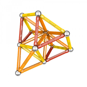 Set de constructie magnetic Geomag Color 64 piese3