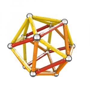 Set de constructie magnetic Geomag Color 64 piese2