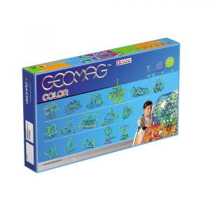 Set de constructie magnetic Geomag Color 91 piese [1]