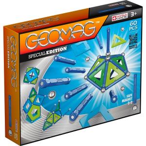 Set de constructie magnetic Geomag Editie Speciala  Color 60 piese0