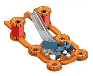 Set de constructie magnetic Geomag Editie Speciala Leonardo da Vinci Tun Magnetic 266 piese3