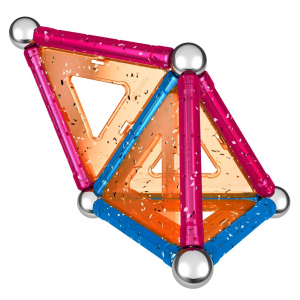 Set de constructie magnetic Geomag Glitter 22 piese3