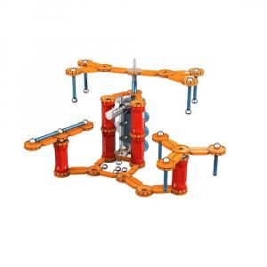 Set de constructie magnetic Geomag Gravity Race Track 169 piese1