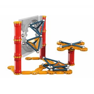 Set de constructie magnetic Geomag Mechanics 164 piese4