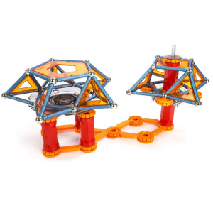 Set de constructie magnetic Geomag Mechanics 222 piese2