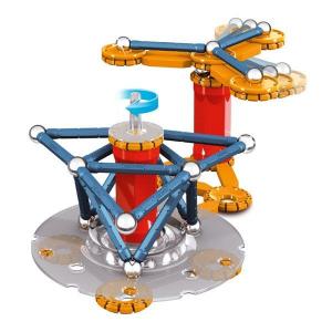 Set de constructie magnetic Geomag Mechanics 86 piese4