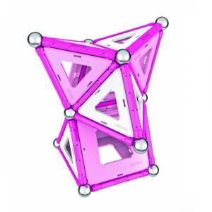 Set de constructie magnetic Geomag Pink 104 piese1