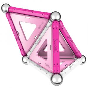 Set de constructie magnetic Geomag Pink 22 piese [2]