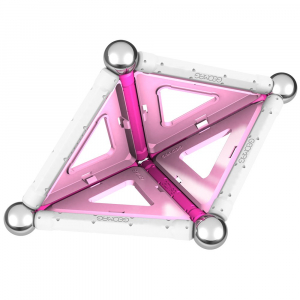 Set de constructie magnetic Geomag Pink 22 piese [3]