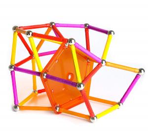 Set de construit Geomag 127 piese colorate [2]