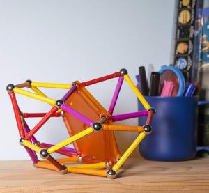 Set de construit Geomag 127 piese colorate [3]