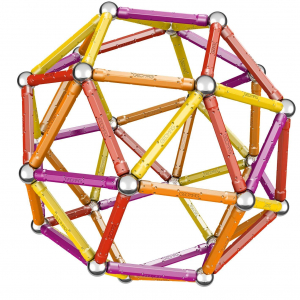 Set de construit Geomag 127 piese colorate [4]