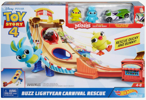 Set de joaca Toy Story 4 Hot Wheels Buzz Lightyear Carnival Rescue3