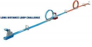 Set de joaca Hot Wheels Double Loop, 2 masinute incluse [1]