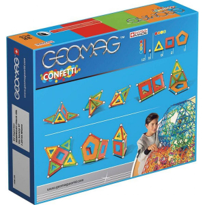 Set de constructie magnetic Geomag Confetti 32 piese1