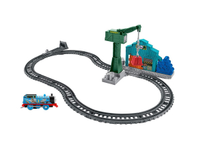 Set sine si locomotiva Thomas & Friends Demolare la docuri2