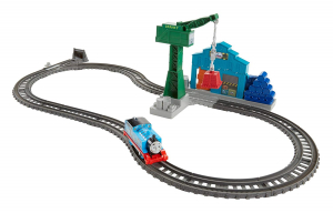 Set sine si locomotiva Thomas & Friends Demolare la docuri0