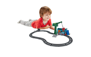 Set sine si locomotiva Thomas & Friends Demolare la docuri1