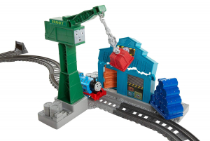 Set sine si locomotiva Thomas & Friends Demolare la docuri3