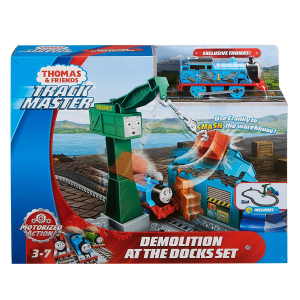 Set sine si locomotiva Thomas & Friends Demolare la docuri6