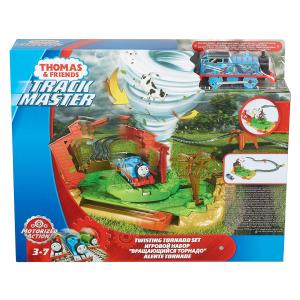 Set sine si locomotiva Thomas & Friends Twisting Tornado6