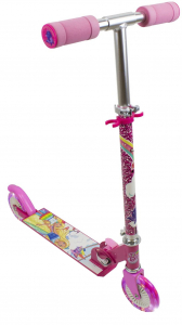 Trotineta copii D'arpeje Barbie Dreamtopia cu lumini LED [0]