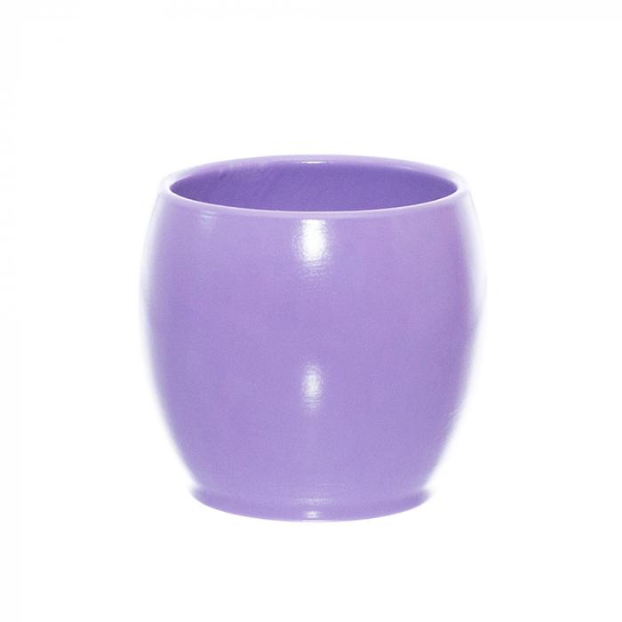 Ceramica 12 cm bol lila [0]