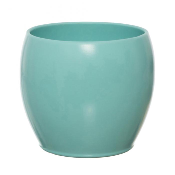 Vas ceramica 18 cm bol turcoaz [0]