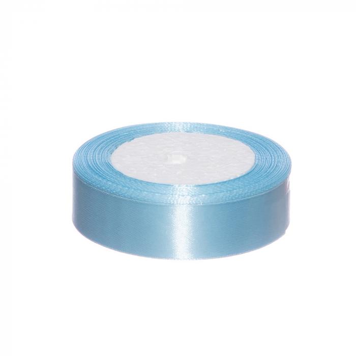 Rola saten 2.5 cm albastru deschis [0]