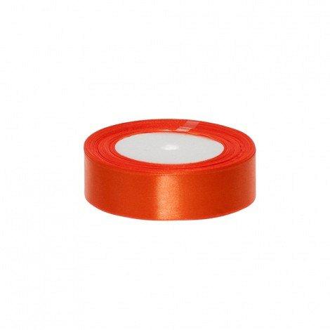 Rola saten 2.5 cm orange [0]