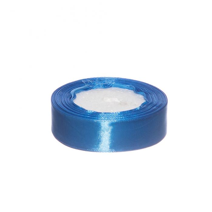 Rola saten 2.5 cm albastru inchis [0]