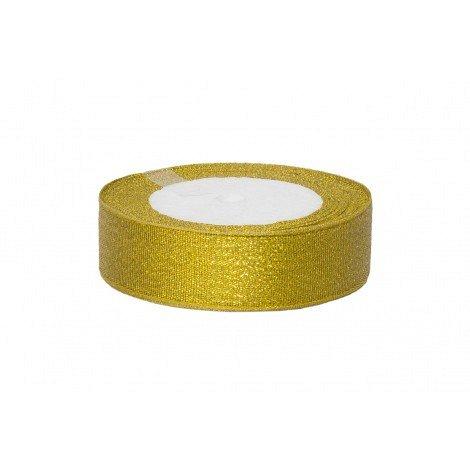 Rola saten 2.5 cm auriu [0]