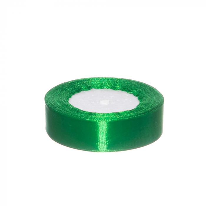 Rola saten 2.5 cm verde [0]