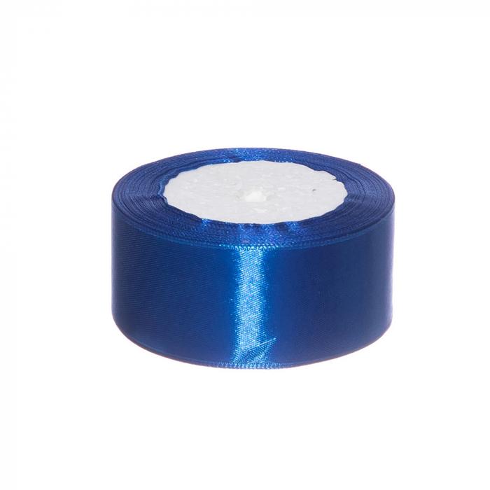 Rola saten 4 cm albastru [0]