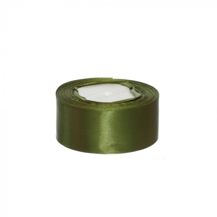 Rola saten 4 cm verde [0]