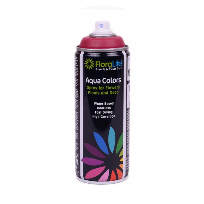 FLORALIFE® Spray aqua color bordeaux [0]