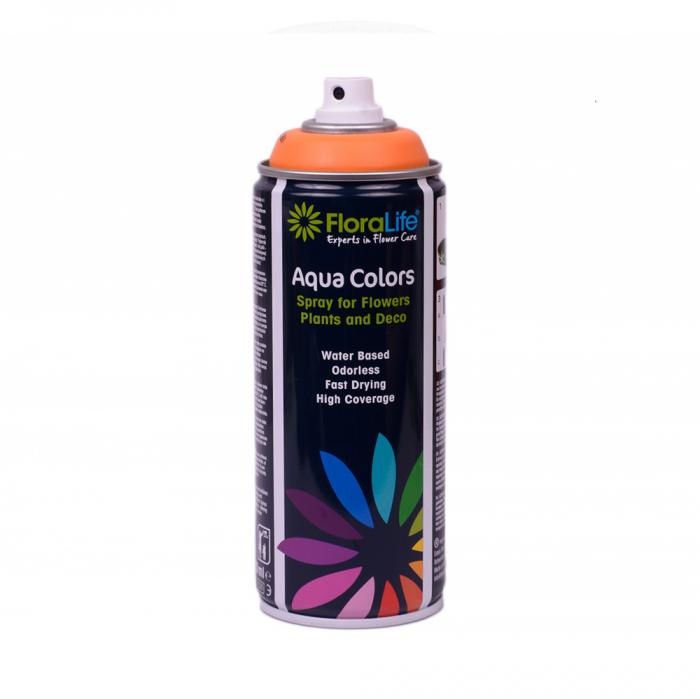 FLORALIFE® Spray aqua color orange [0]