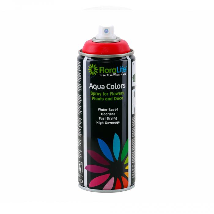 FLORALIFE® Spray aqua color rosu [0]